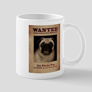 The Plucky Pug Mugs