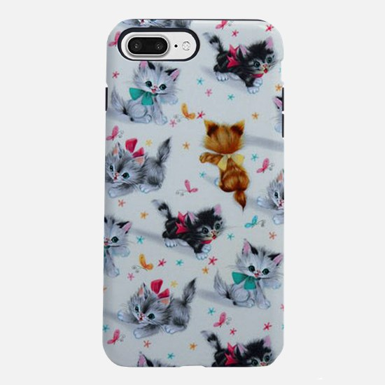 Cute Playful Kittens iPhone 8/7 Plus Tough Case