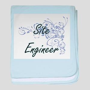 Site Engineer Artistic Job Design wit baby blanket