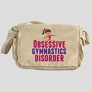 Gymnastics Obsessed Messenger Bag