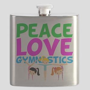 Cute Gymnastics Flask