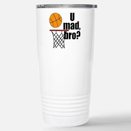 U Mad Bro? Travel Mug