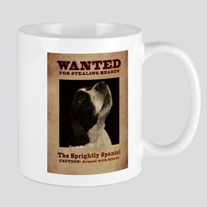 The Sprightly Spaniel Mugs