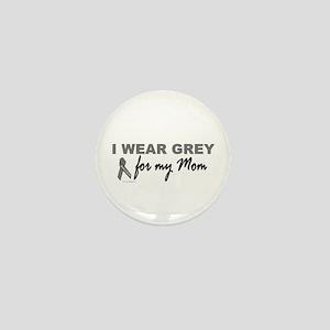 I Wear Grey For My Mom 2 (BC) Mini Button