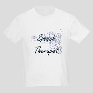 Speech Therapist Artistic Job Design with T-Shirt