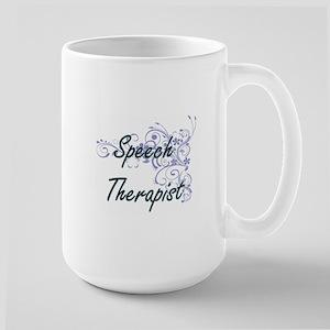 Speech Therapist Artistic Job Design with Flo Mugs