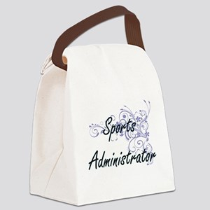 Sports Administrator Artistic Job Canvas Lunch Bag