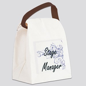 Stage Manager Artistic Job Design Canvas Lunch Bag