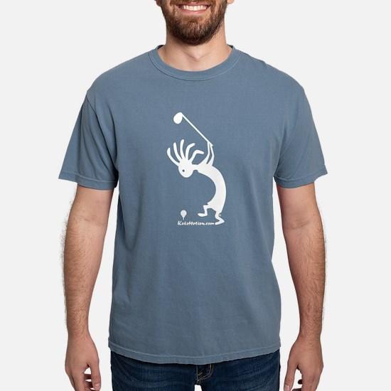 Kokopelli Golfer Women's Dark T-Shirt