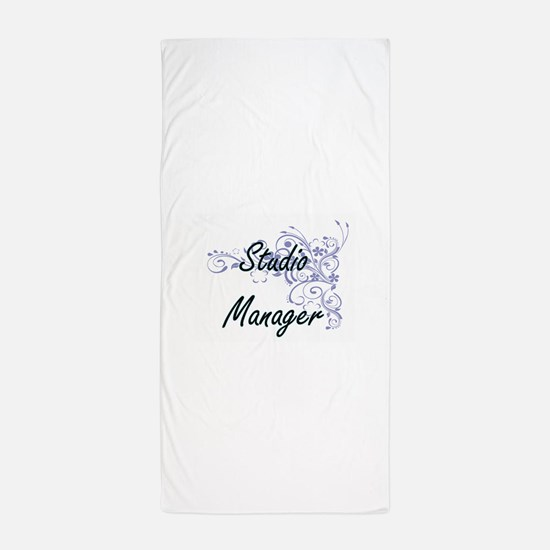 Studio Manager Artistic Job Design wit Beach Towel