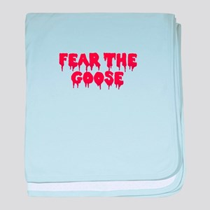 Fear the Goose baby blanket