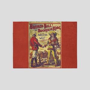 Buffalo Bill 5'x7'Area Rug
