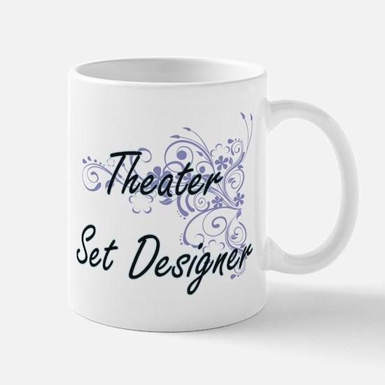Theater Set Designer Artistic Job Design with Mugs