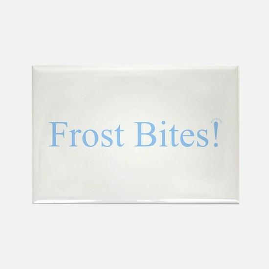 Unique Frost bites Rectangle Magnet