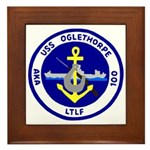 USS Oglethorpe (AKA 100) Framed Tile