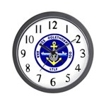 USS Oglethorpe (AKA 100) Wall Clock