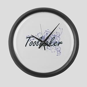 Toolmaker Artistic Job Design wit Large Wall Clock