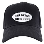 USS DYESS Black Cap with Patch
