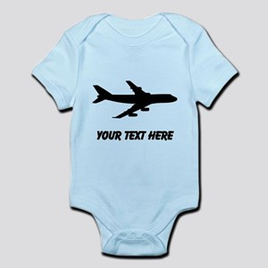 Airplane Silhouette Body Suit