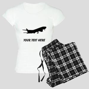 Airplane Silhouette Pajamas