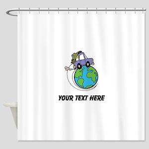 World Travel Shower Curtain