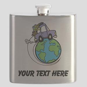 World Travel Flask