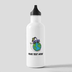 World Travel Water Bottle