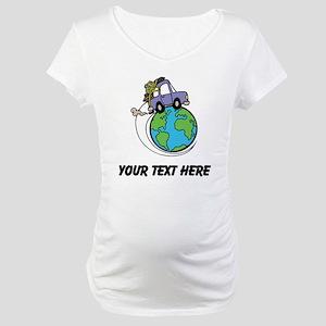 World Travel Maternity T-Shirt
