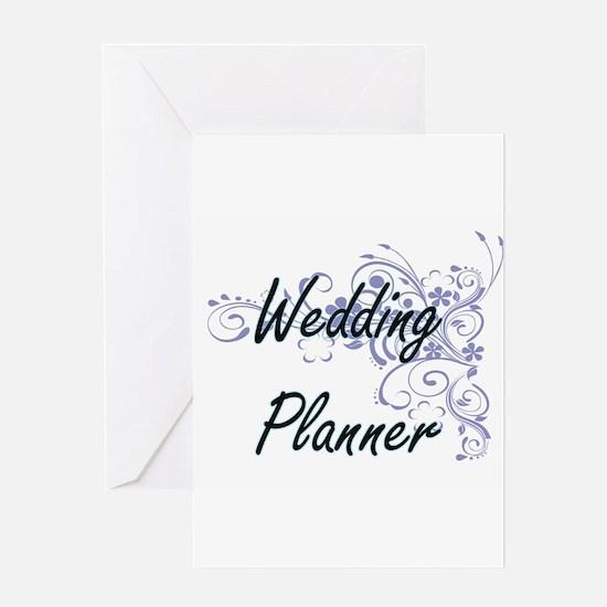 Wedding Planner Artistic Job Design Greeting Cards