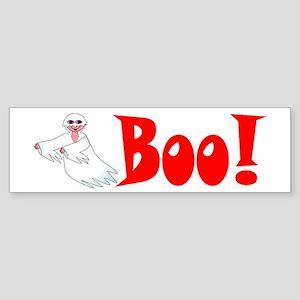 Ghost Boo Bumper Sticker
