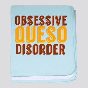 Funny Queso baby blanket