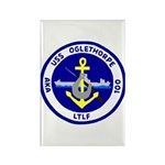 USS Oglethorpe (AKA 100) Rectangle Magnet (10 pack