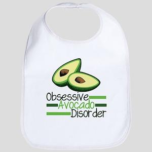Cute Avocado Cotton Baby Bib