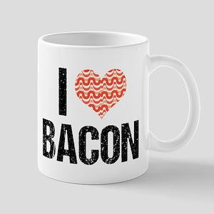 I Heart Bacon 11 oz Ceramic Mug