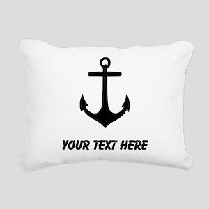 Ship Anchor Rectangular Canvas Pillow