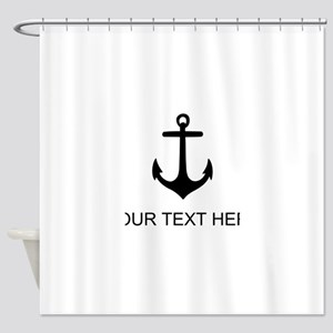 Ship Anchor Shower Curtain