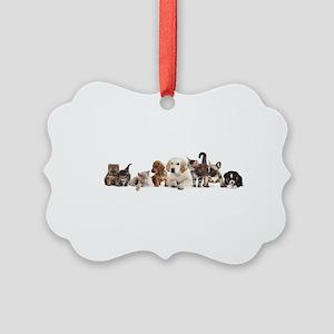 Cute Pet Panorama Picture Ornament