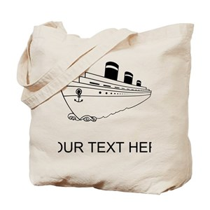 8b54985bc26f Cruise Canvas Tote Bags - CafePress