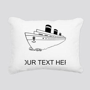 Cruise Ship Rectangular Canvas Pillow