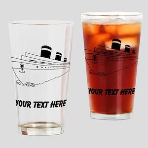 Cruise Ship Drinking Glass