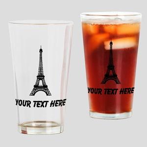 Eiffel Tower Drinking Glass