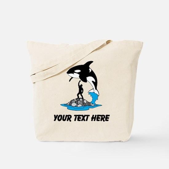 Killer Whale Tote Bag
