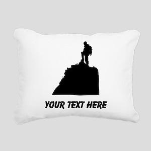 Hiker Rectangular Canvas Pillow