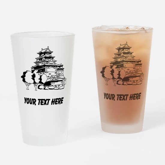Japanese House Drinking Glass