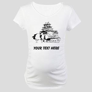 Japanese House Maternity T-Shirt