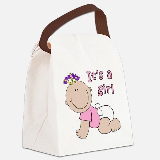 Unique Hollister girl Canvas Lunch Bag