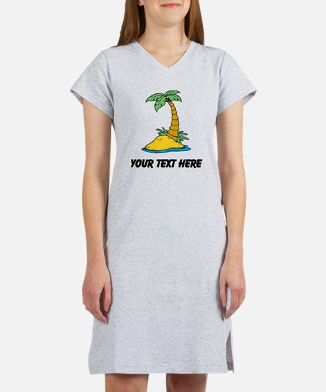 Secluded Island Women's Nightshirt