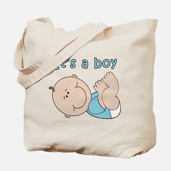 Cute Baby boy Tote Bag