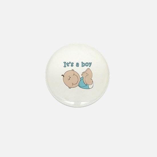 Cute Baby boy Mini Button