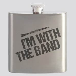 Clarinet Humor Flask